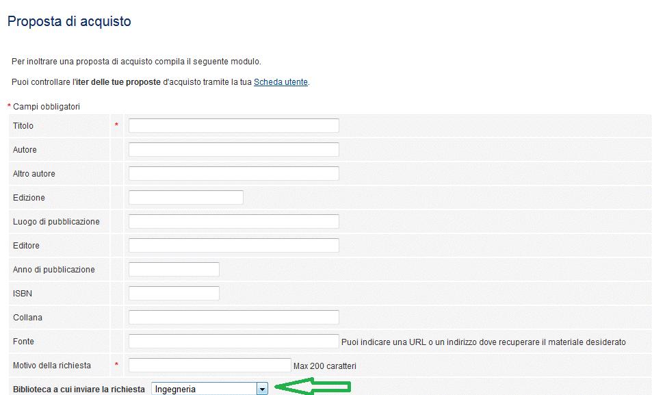 form proposta acquisto